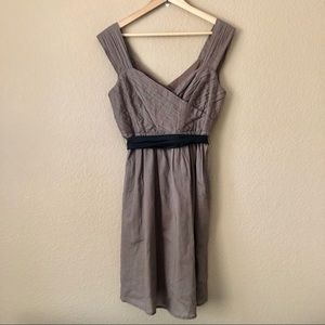 NEW Anthropologie Maeve tie waist dress